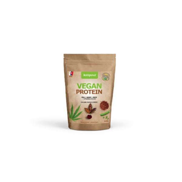 Vegan proteín čokoláda/ višňa 525g