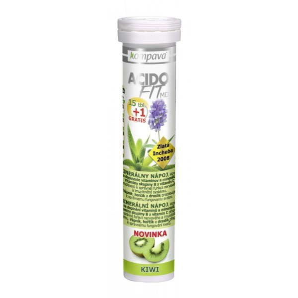 Acidofit MD kiwi 15+1tbl.