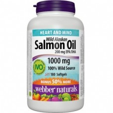 Omega-3 s olejom z lososa 180tbl./1000mg