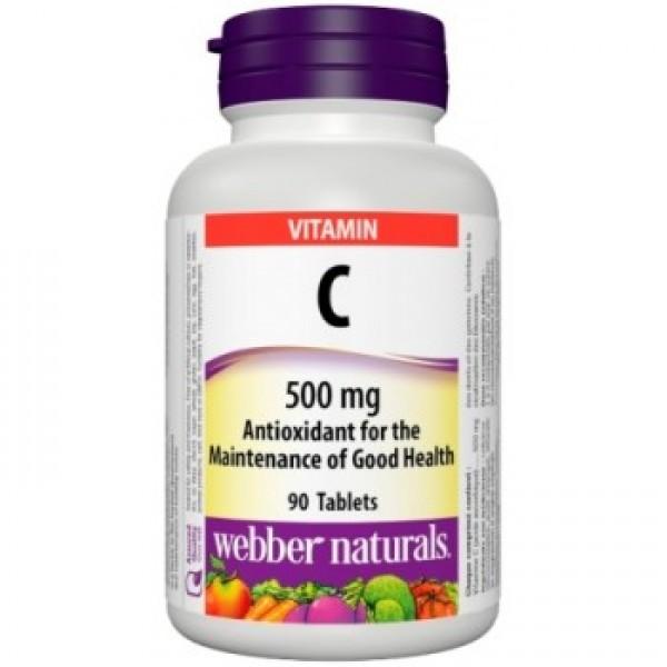 Vitamín C so šípkami 90tabl./500mg