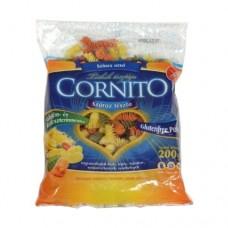 Cestoviny bezlepkové - farebné špirály 200g Cornito