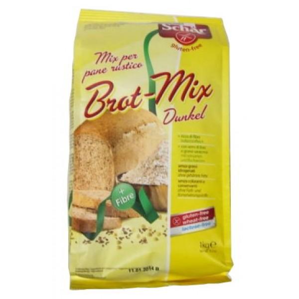 Zmes na tmavý chlieb Brot-Mix 1kg SCHAR