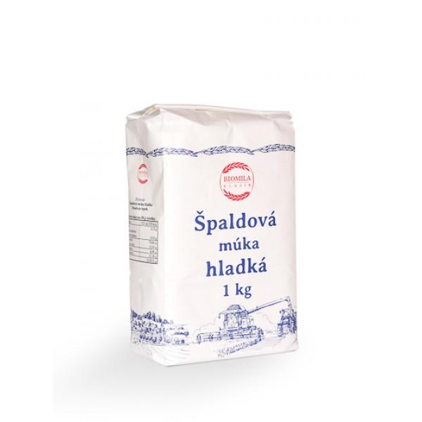 Múka špaldová hladká biela BIOMILA  1kg