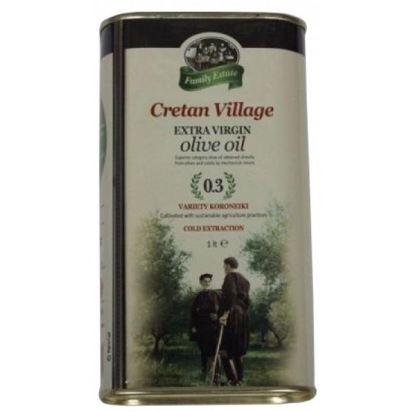 Olej olivový plechovka 1L Family estate